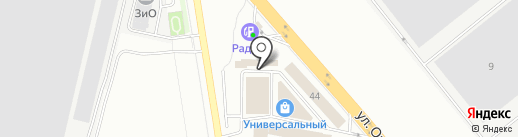 Магазин автотоваров на карте Подольска