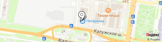 Тулячка на карте Тулы