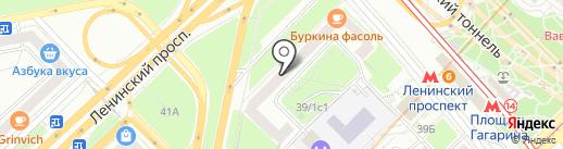 Coolhair на карте Москвы