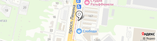 Котел Хаус на карте Тулы