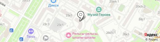 Главная миля на карте Москвы