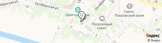 Донбетонстрой на карте Старомихайловки