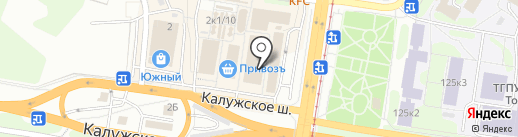 Заря, ЗАО на карте Тулы