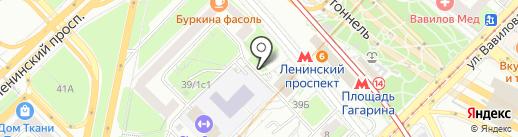 Ветеран на карте Москвы