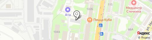 Милос на карте Тулы