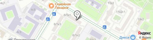 Тарантелла на карте Москвы