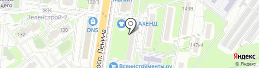 Леди Бродяга на карте Тулы