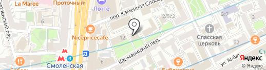 КРОТ-ритэйл на карте Москвы