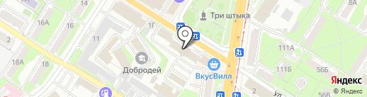Логопедический кабинет на карте Тулы