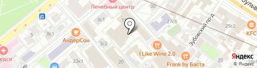 Krassky на карте Москвы
