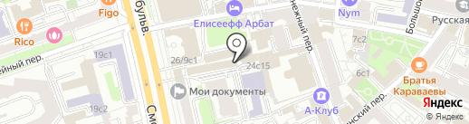 Vertex Group на карте Москвы