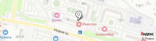 Qiwi на карте Дрожжино