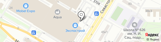 Магазин плинтусов на карте Москвы