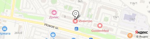 Штрафной Удар на карте Дрожжино