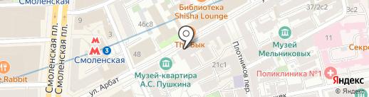 Skazka на карте Москвы
