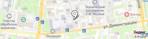 Новый квартал на карте Тулы