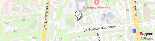Веридент на карте Тулы