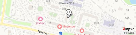 Компас Недвижимость на карте Дрожжино