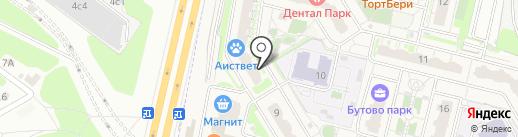 Николь на карте Бутово