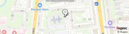Магазин кондитерских и хлебобулочных изделий на карте Тулы