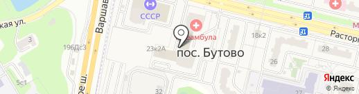 Таун Брик на карте Бутово