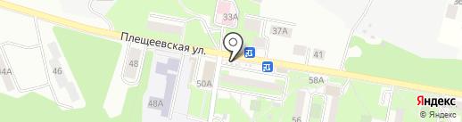 Киоск печатной продукции на карте Подольска