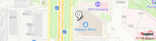 К3 на карте Москвы