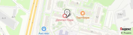 Мередиан на карте Бутово