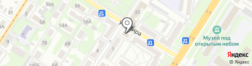 Мастер-Сервис на карте Тулы