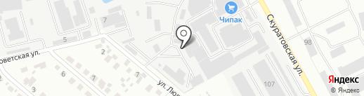 Тульский Завод Строительного Оборудования на карте Тулы