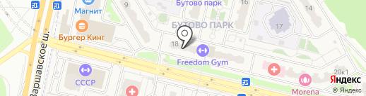 Суши Wok на карте Бутово
