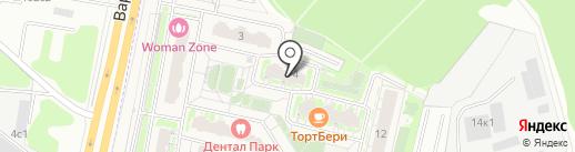 Чемпионика на карте Бутово
