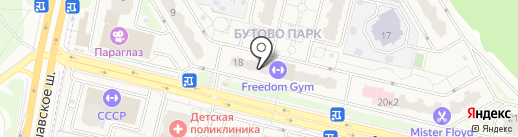 Лилидент на карте Бутово
