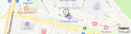 Жасмин на карте Бутово