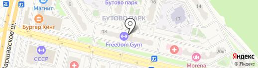 I Love Burger на карте Бутово