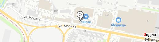 Кадастровое бюро на карте Тулы
