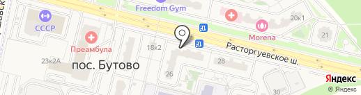 Бир Мир на карте Бутово