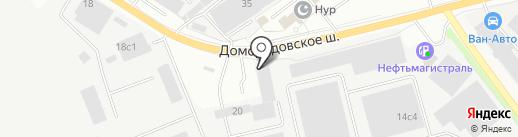 Азбука полимеров на карте Подольска