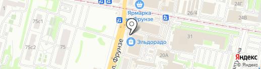 Гранит71 на карте Тулы