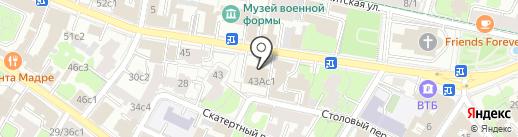Посольство Турецкой Республики в г. Москве на карте Москвы