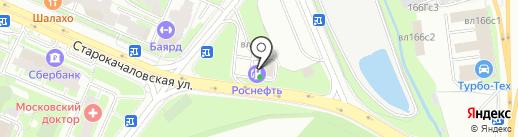 Автовозим на карте Москвы