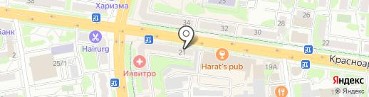 Русские деньги на карте Тулы