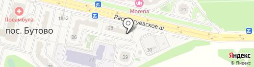 Магазин все для дома на карте Бутово