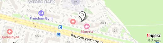 Все для дома и ремонта на карте Бутово