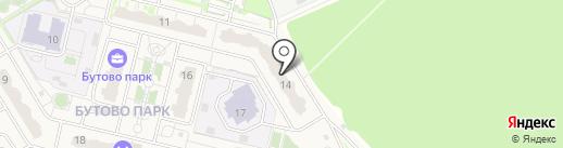 Smoke & Tea на карте Бутово