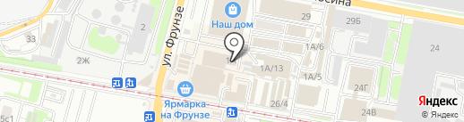 Стелла-Память на карте Тулы