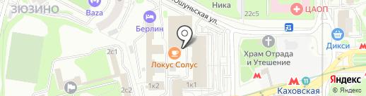 Профсоюз работников торговли, общественного питания, потребкооперации г. Москвы на карте Москвы
