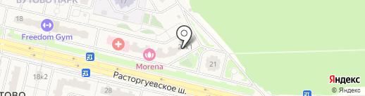 Тамагочи на карте Бутово