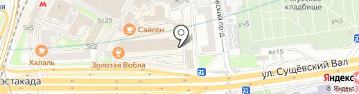 БИЗНЕС КЛАСС на карте Москвы