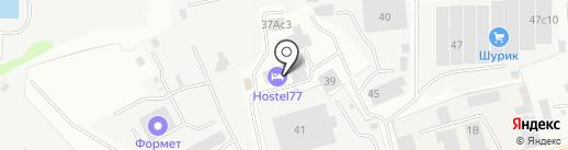 Hostel77 на карте Подольска